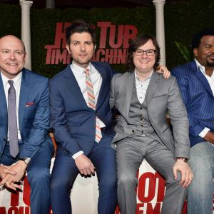 Adam Scott, Clark Duke, Craig Robinson, Rob Corddry