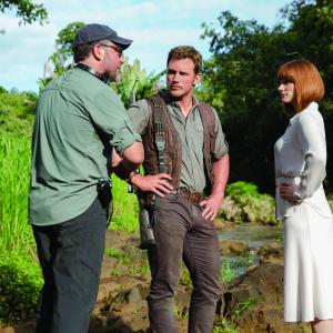 Bryce Dallas Howard, Chris Pratt, Colin Trevorrow
