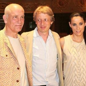 In a press conference for the film The Casanova Variations with John Malkovich and director Michael Sturminger