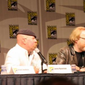 Grant Imahara, Adam Savage, Tory Belleci, Jamie Hyneman