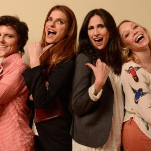Alexandra Holden Tig Notaro Lake Bell and Michaela Watkins at event of In a World 2013
