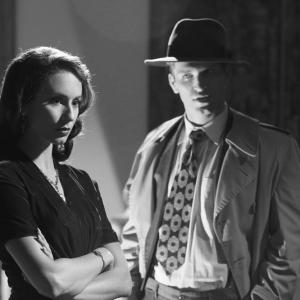 Still of Troian Bellisario and Keegan Allen in Jaunosios melages 2010