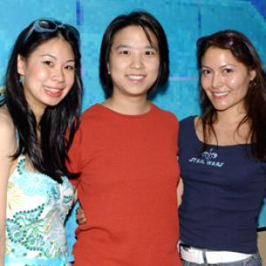 Mia Riverton Georgia Lee and Jane Chen at event of Red Doors 2005