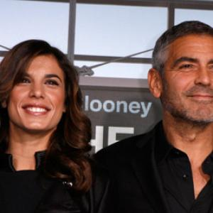 George Clooney and Elisabetta Canalis at event of Viskas ore! (2009)