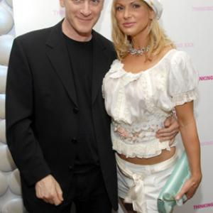 Timothy Greenfield-Sanders and Savanna Samson at event of Thinking XXX (2004)