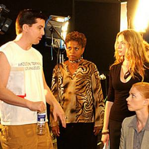 Katherine Boecher, D.C. Douglas, Fay Masterson and Monnae Michaell in The Crooked Eye (2009)