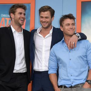 Chris Hemsworth, Luke Hemsworth, Liam Hemsworth