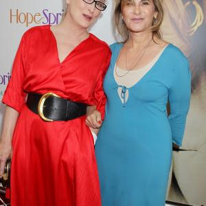 Meryl Streep and Amy Pascal at event of Hope Springs 2012