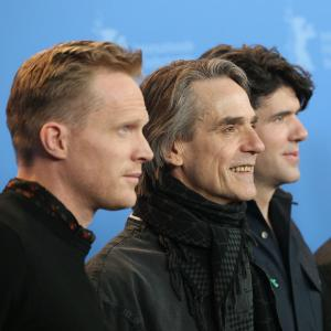 Jeremy Irons, Paul Bettany and J.C. Chandor