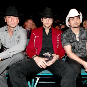 Ashton Kutcher, Brad Paisley, Kenny Chesney