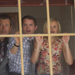 Elijah Wood, Alison Pill, Leigh Whannell