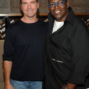 Simon Cowell and Randy Jackson