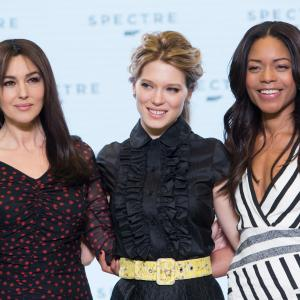 Monica Bellucci Naomie Harris and La Seydoux at event of Spectre 2015