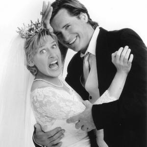 Bill Pullman and Ellen DeGeneres in Mr Wrong 1996