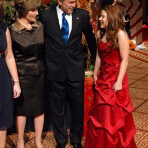 George W. Bush, Laura Bush, Bianca Ryan