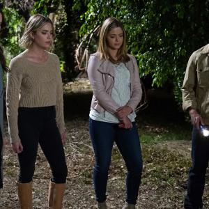 Troian Bellisario, Sasha Pieterse, Ashley Benson, Drew Van Acker