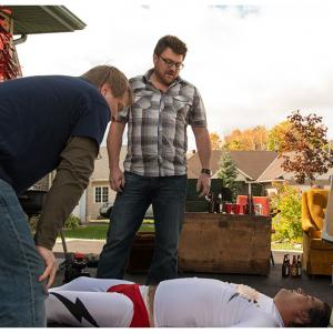 Still of Robb Wells and Patrick Roach in Swearnet The Movie 2014