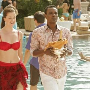 Still of Allan Louis and Ashley Newbrough in Privileged (2008)
