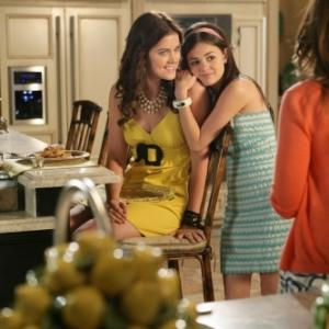 Still of Ashley Newbrough and Lucy Hale in Privileged (2008)