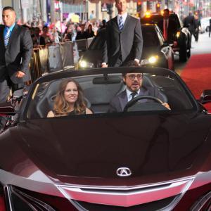 Robert Downey Jr. and Susan Downey at event of Kersytojai (2012)