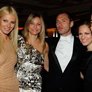 Cameron Diaz, Jude Law, Robert Downey Jr., Gwyneth Paltrow and Susan Downey