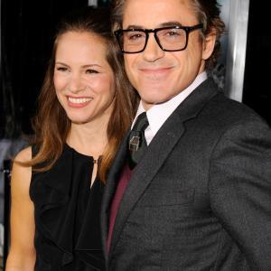 Robert Downey Jr. and Susan Downey at event of Nezinomas (2011)