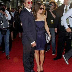 Robert Downey Jr. and Susan Downey at event of Gelezinis zmogus 2 (2010)
