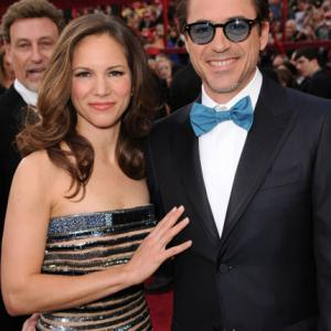 Robert Downey Jr. and Susan Downey at event of The 82nd Annual Academy Awards (2010)