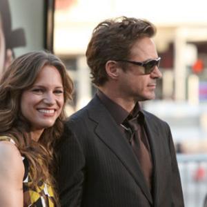 Robert Downey Jr. and Susan Downey at event of Naslaite (2009)