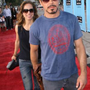 Robert Downey Jr. and Susan Downey at event of Paper Man (2009)