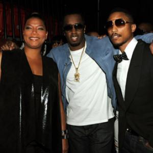 Queen Latifah Sean Combs and Pharrell Williams