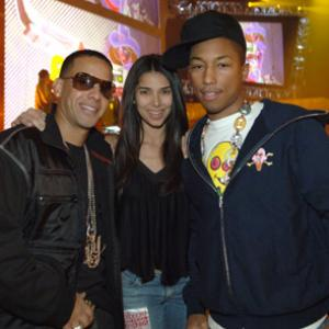 Roselyn Sanchez Pharrell Williams and Daddy Yankee