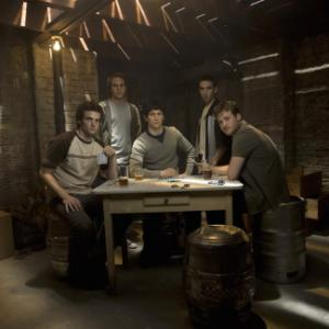 Still of Tom Guiry Keith Nobbs Tommy Donnelly Michael StahlDavid and Billy Lush in The Black Donnellys 2007