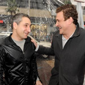 Jason Segel, Rob Letterman