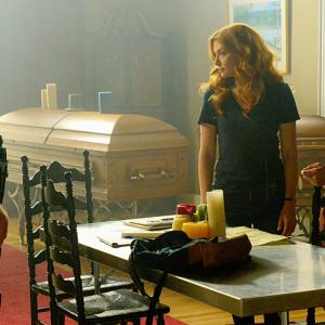 Still of Rachelle Lefevre, Dean Norris and Colin Ford in Under the Dome (2013)