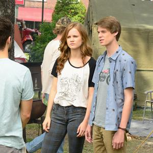 Still of Colin Ford, Max Ehrich and Mackenzie Lintz in Under the Dome (2013)