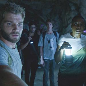 Still of Mike Vogel, Colin Ford, Aisha Hinds, Max Ehrich and Mackenzie Lintz in Under the Dome (2013)