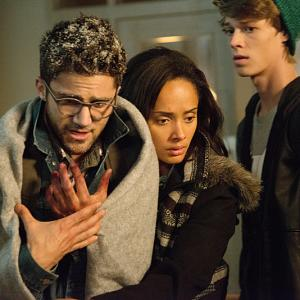 Still of Colin Ford, Max Ehrich and Karla Crome in Under the Dome (2013)