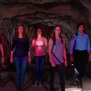 Still of Rachelle Lefevre, Colin Ford, Alexander Koch, Mackenzie Lintz and Grace Victoria Cox in Under the Dome (2013)