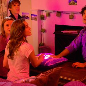 Still of Colin Ford, Alexander Koch, Mackenzie Lintz and Grace Victoria Cox in Under the Dome (2013)