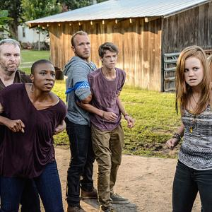 Still of Colin Ford, Aisha Hinds and Mackenzie Lintz in Under the Dome (2013)