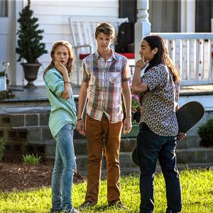 Still of Colin Ford, Britt Robertson and John Elvis in Under the Dome (2013)