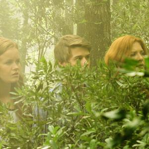 Still of Rachelle Lefevre, Colin Ford and Mackenzie Lintz in Under the Dome (2013)