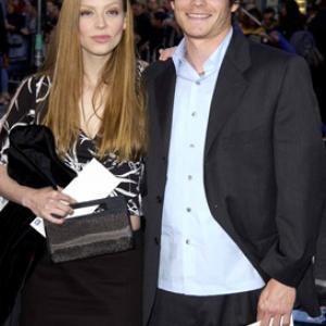 Amber Benson and Greg Rikaart at event of Iksmenai 2 (2003)