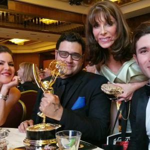 The Bay The Series wins Emmy for Outstanding Drama Series New Approaches with Kira Reed Lorsch Gregori J Martin Kate Linder and Kristos Andrews