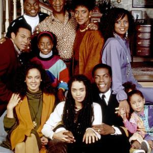 Still of Lisa Bonet Bill Cosby Tempestt Bledsoe Sabrina Le Beauf Geoffrey Owens Joseph C Phillips Keshia Knight Pulliam Phylicia Rashad RavenSymon and MalcolmJamal Warner in The Cosby Show 1984