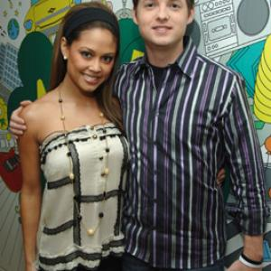 Vanessa Lachey and Damien Fahey at event of Total Request Live 1999