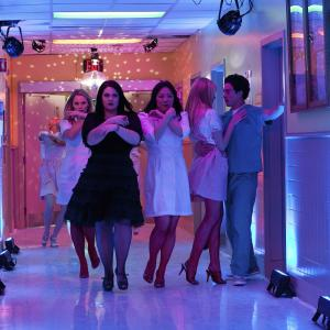 Still of Margaret Cho, Brooke Elliott, Ben Feldman, Kate Levering and April Bowlby in Drop Dead Diva (2009)