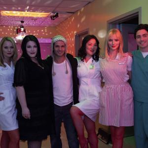 Still of Margaret Cho, Tyce Diorio, Brooke Elliott, Ben Feldman, Kate Levering and April Bowlby in Drop Dead Diva (2009)