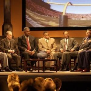 Jesse Jackson, John Thompson, Eddie George, Bobby Mitchell, Richard Lapchick, John Saunders, Howard White